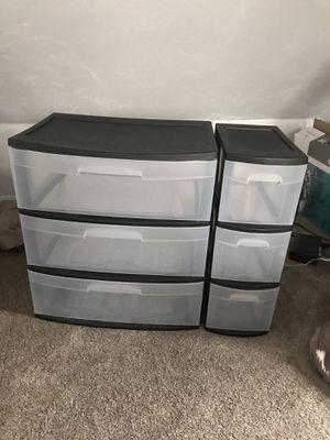 plastic drawers for Sale in Cranston, RI