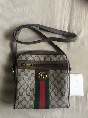 Gucci - Ophidia GG Small Messenger Bag, Beige, GG Canvas for Sale in Miami Beach, FL