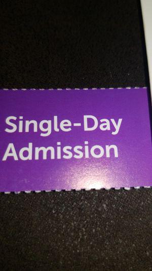 1 single day ticket LA Fair for Sale in Ontario, CA