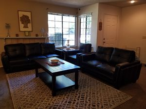 Genuine Leather Sofa / Loveseat / Chair for Sale in Fresno, CA