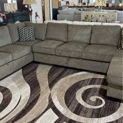 Brown Sectional Sleeper for Sale in Dallas,  TX