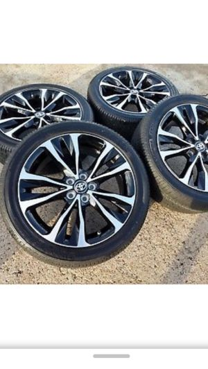 Rims and tires Toyota Corolla 2018 new for Sale in UNIVERSITY PA, MD