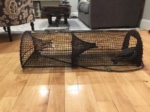 Authentic Vintage Fish Trap / Lobster Trap for Sale in Boston, MA