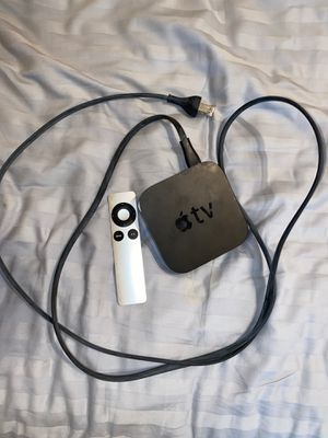 Apple TV and remote for Sale in The Woodlands, TX