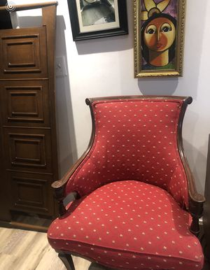 Antique empire wood chair colonial for Sale in Decatur, GA