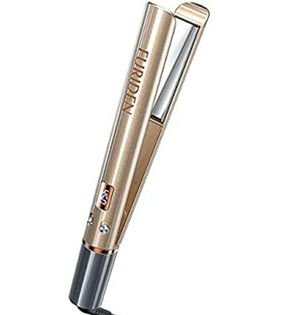 FURIDEN Hair Straightener and Curler, 2 in 1 Straightener and Curling Iron, Titanium Flat Iron for Sale in Las Vegas, NV