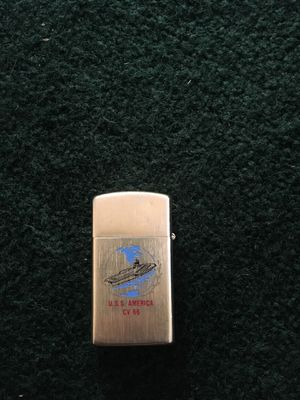 Extremely rare brass custom engraved zippo for Sale in Ludowici, GA