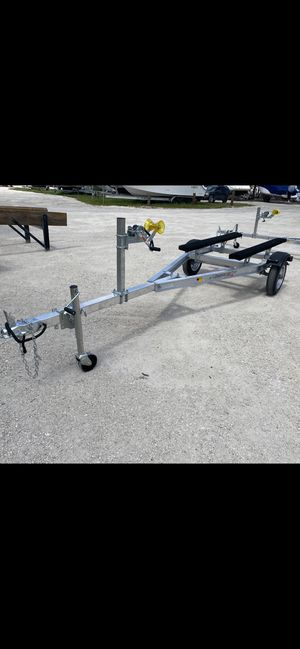 New aluminum jet ski trailer. Ready to go. $950/plus tax. for Sale in Fort Lauderdale, FL