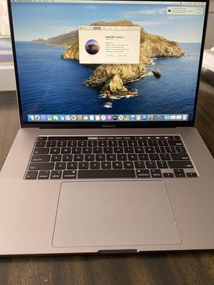 """Apple MacBook Pro 16"""" MAX specs 2.4 i9 32GB 1TB 5500M 8GB GPU $1000 off! for Sale in San Diego, CA"""