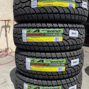LT31X10.50R15 Atturo $480 Four Brand New Tires ( Installation & Balancing Included ) for Sale in Rialto, CA