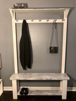 Gorgeous Brand New Custom Handmade Coat Rack & Shoe Rack 👠👟 for Sale in Orlando, FL