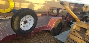 Fleming flat trailer. Tilt for Sale in Phoenix, AZ
