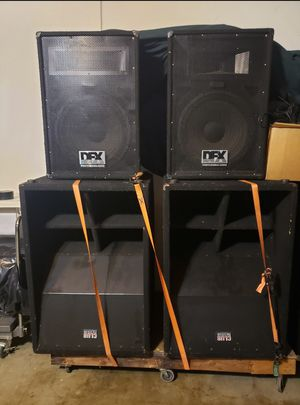 DJ EQUIPMENT for Sale in Fontana, CA