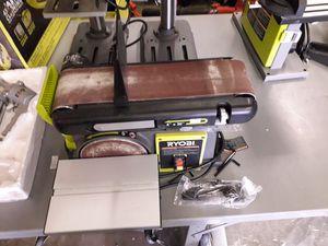 RYOBI 4 in x 36 in. Belt and 6 in. Disc Sander for Sale in Roosevelt, CA