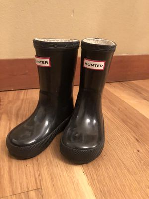 Kids black Hunter boots for Sale in Seattle, WA