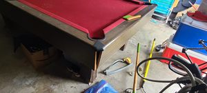 Solid slate 8ft pool table for Sale in La Porte, TX