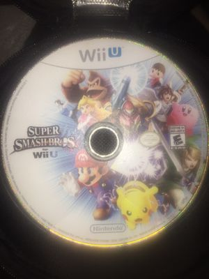 Wii U Nintendo Games Super Smash bros Pokémon for Sale in New Cumberland, PA