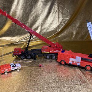 Firefighter Fire Trucks Bundle Toys for Sale in San Antonio, TX