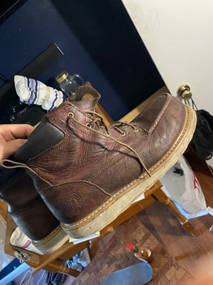 RED WING SIZE 13D STEEL TOE WORK BOOTS for Sale in Whittier, CA