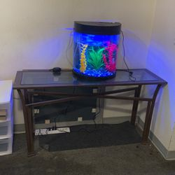 Glass Table Not Including Fish Tank for Sale in El Sobrante,  CA