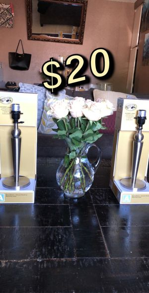 Table lamps for Sale in Lakewood, CA