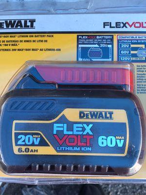 flexvolt battery for Sale in Dallas, TX
