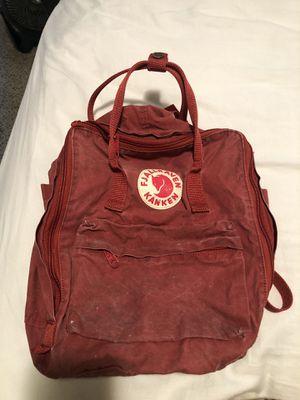 Fjallraven Kanken Backpack in Red for Sale in Phillips Ranch, CA