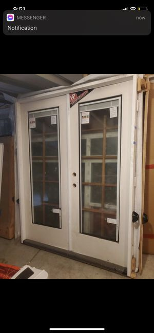 6' x 8' French Doors for Sale in Corona, CA