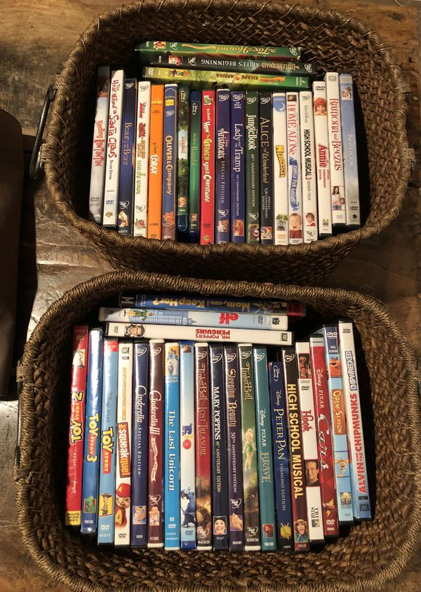Lots of Disney movies and more.