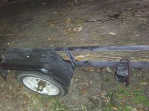 Good trailer 4x8 with wheel and jack it's got a spare tiremoun for Sale in Bartow, FL