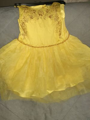 New beauty and the beast dress size 6 for Sale in Los Angeles, CA