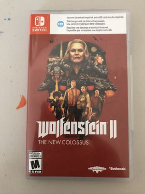 Wolfenstien 2 The New Colossus Nintendo Switch for Sale in Riverside, CA
