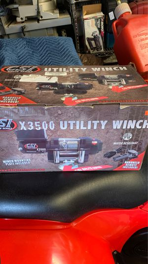 Atv utility winch for Sale in Des Moines, WA