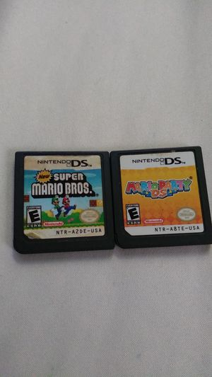 Mario bros ds games for Sale in Arlington, TX