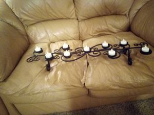 Wrought iron pier 1 candle holder for Sale in Auburn, WA