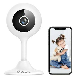 WiFi Camera Indoor, Goowls 1080p HD Home Security Camera 2.4GHz Plug-in IP for Sale in Weymouth, MA