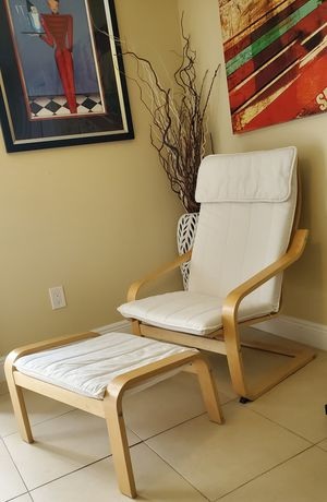 Armchair and ottoman for Sale in Boca Raton, FL