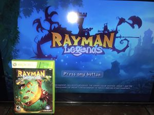 Xbox 360 Game: Rayman Legends Disc Have Scratches But Playable for Sale in Reedley, CA