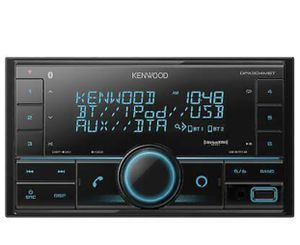 Kenwood DPX304MBT 2-DIN Car Stereo Digital Media Receiver with Bluetooth for Sale in San Diego, CA