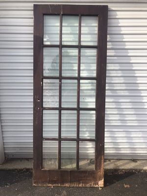 """French door 32/80"""" some damage for Sale in Columbus, OH"""