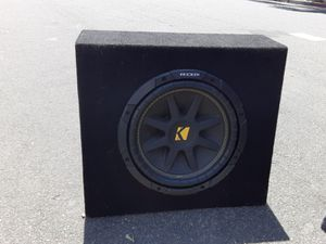 10 inch kicker great conditions for Sale in Anaheim, CA