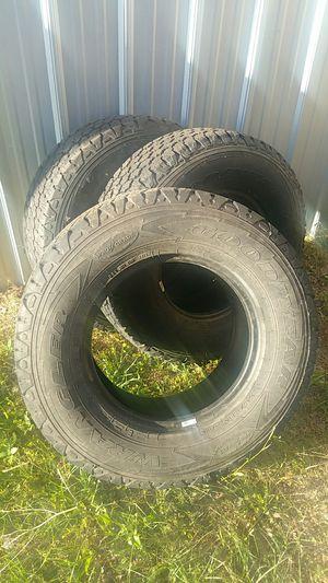 Tires: Goodyear Wrangler SilentArmor LT245/75R16 for Sale in Hazlehurst, GA