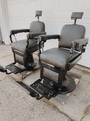 Belmont barber chairs for Sale in Chicago, IL
