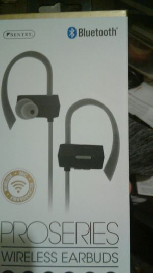 Sentry Bluetooth Pro Series wireless earbuds for Sale in Indianapolis, IN