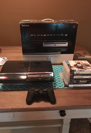 PS3 1st edition w/backwards PS1 & PS2 compatibility for Sale in Manassas, VA