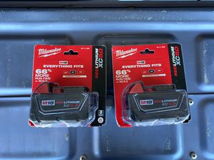 Milwaukee M18 Battery 18 Volt XC 5.0 Brand New for Sale in Ripon, CA