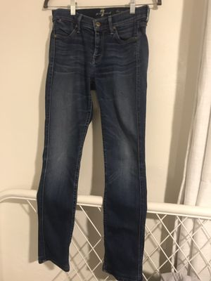 7 for all mankind jeans 26 for Sale in Chula Vista, CA