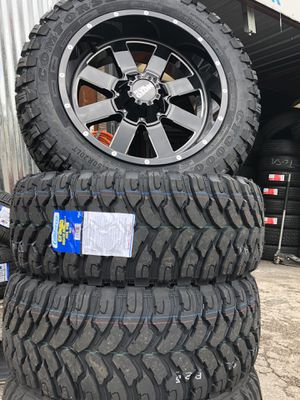 Moral metal and tires rim brand new for Sale in Austin, TX