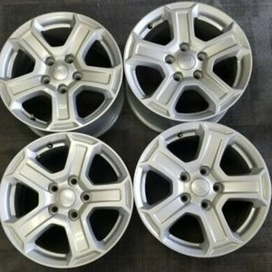 "Jeep Wrangler Stock Wheels And 37"" Offroad Tires for Sale in Fuquay-Varina, NC"