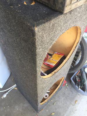 """12""""speaker box for Sale in Fontana, CA"""